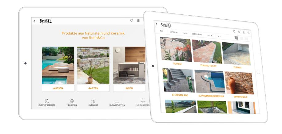 produkte stein co app stein co. Black Bedroom Furniture Sets. Home Design Ideas